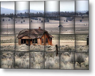 140 Homestead Weave Metal Print by Ray Finch