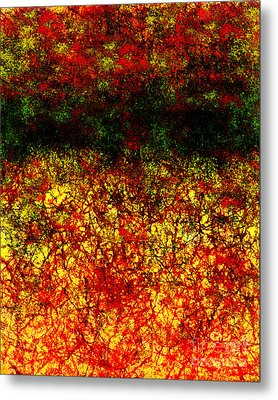 1437 Abstract Thought Metal Print by Chowdary V Arikatla