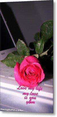 Rose For You Metal Print by Gornganogphatchara Kalapun
