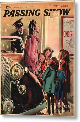 1930s,uk,the Passing Show,magazine Cover Metal Print