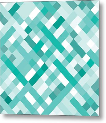 Geometric Metal Print by Mike Taylor