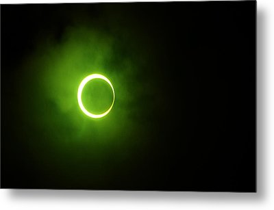 15 January 2010 Solar Eclipse Maldives Metal Print