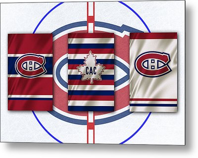 Montreal Canadiens Metal Print by Joe Hamilton