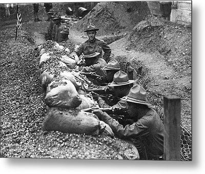 15th Infantry Prepares For War Metal Print