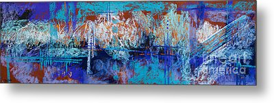 Bridges To Nowhere Metal Print by Tracy L Teeter