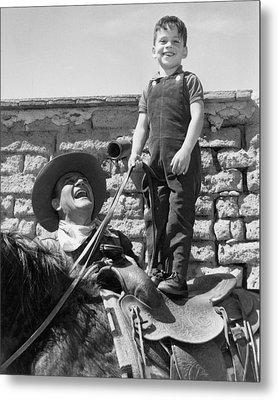 John Wayne Metal Print by Retro Images Archive