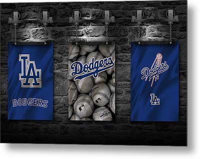 Los Angeles Dodgers Metal Print by Joe Hamilton
