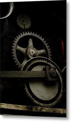 Old Train Metal Print by Gary Marx