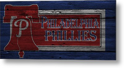 Philadelphia Phillies Metal Print by Joe Hamilton