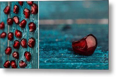 Pomegranate Metal Print by Nailia Schwarz