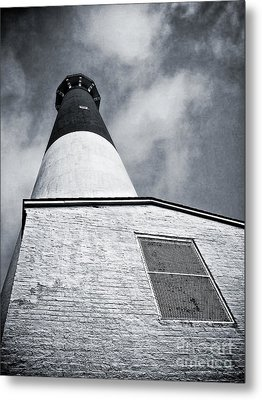 163 Feet Into The Clouds Metal Print by Mark Miller