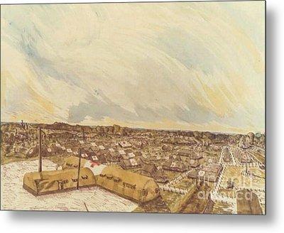 167th General Hospital Cherbourg France Ww II Metal Print by David Neace