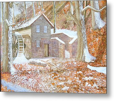 17 Centry Ghrist Mill Metal Print by Jim Ivey