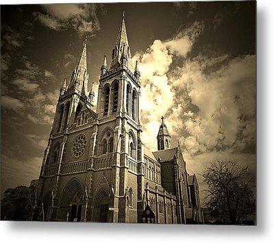 Church Metal Print by Girish J