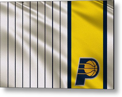 Indiana Pacers Uniform Metal Print