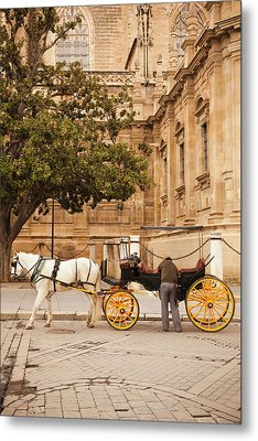Spain, Andalucia Region, Seville Metal Print by Walter Bibikow