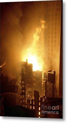 18 Alarm Hotel St George Fire Metal Print by Steven Spak