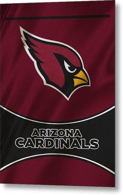 Arizona Cardinals Uniform Metal Print by Joe Hamilton
