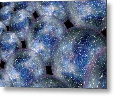 Bubble Universes Metal Print by Detlev Van Ravenswaay