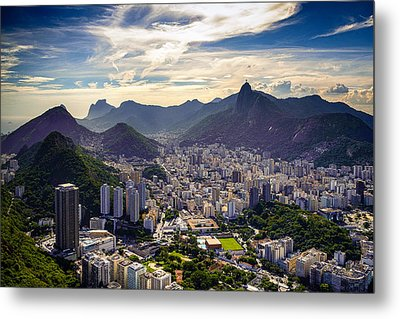 Cityscape Metal Print by Celso Diniz