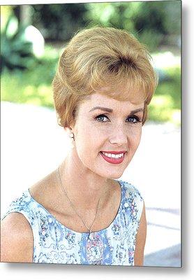 Debbie Reynolds Metal Print by Silver Screen