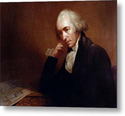 James Watt (1736-1819) Metal Print by Granger