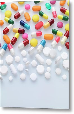 Pills Metal Print