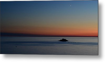 Sunset Metal Print by Barbara Walsh