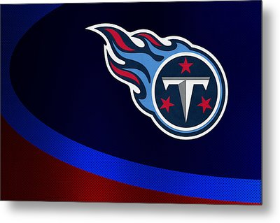 Tennessee Titans Metal Print by Joe Hamilton