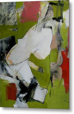Metal Print featuring the painting Untitled by Fred Smilde