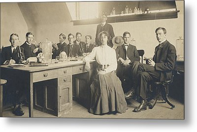 1800s Medical School  Metal Print by Paul Ashby Antique Image
