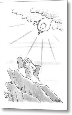 New Yorker September 4th, 2000 Metal Print