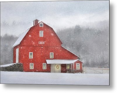 1884 Christmas Metal Print by Lori Deiter
