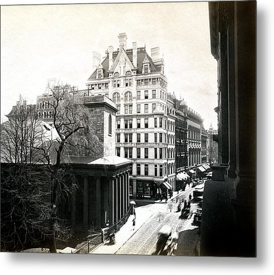 1890 Tremont Street Boston Metal Print