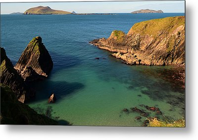 Blasket Islands Metal Print by Barbara Walsh