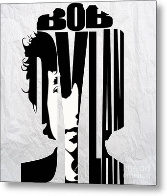 Bob Dylan Metal Print by Marvin Blaine