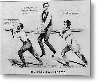 Presidential Campaign, 1860 Metal Print by Granger