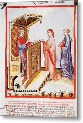Tacuinum Sanitatis, Medieval Health Metal Print