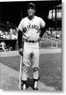 Willie Mays Metal Print by Retro Images Archive