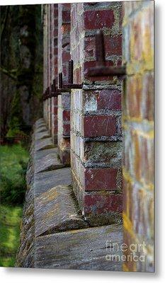 1900's Brick Wall Metal Print