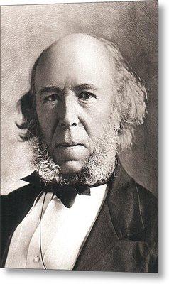 1903 Herbert Spencer Philosopher Old Age Metal Print by Paul D Stewart