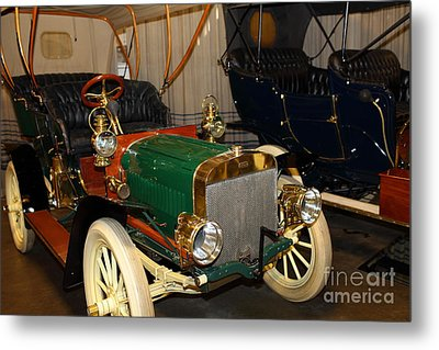 1904 Ford Model B Touring 5d25555 Metal Print by Wingsdomain Art and Photography