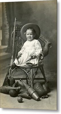1910 American Tomboy Metal Print by Historic Image