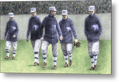1911 Philadelphia Athletics Metal Print