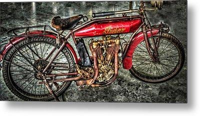 1912 Indian Motorcycle Metal Print