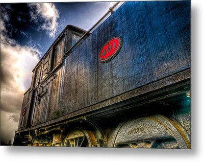 1912 Locomotive Metal Print by Phil 'motography' Clark