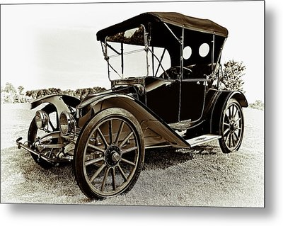 1913 Argo Electirc Model B Roadster Coffee Metal Print by Marcia Colelli