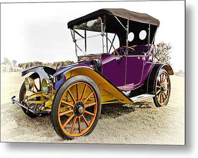 1913 Argo Electric Model B Roadster Metal Print by Marcia Colelli