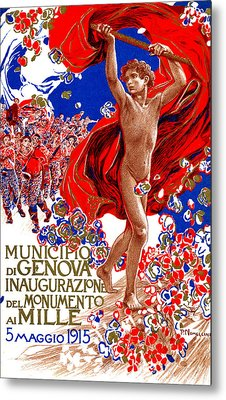 1915 Unified Italy Poster Metal Print by Historic Image