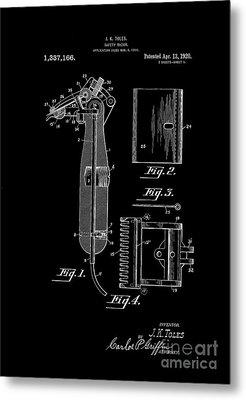 1920 Razor Toles Inverted Metal Print